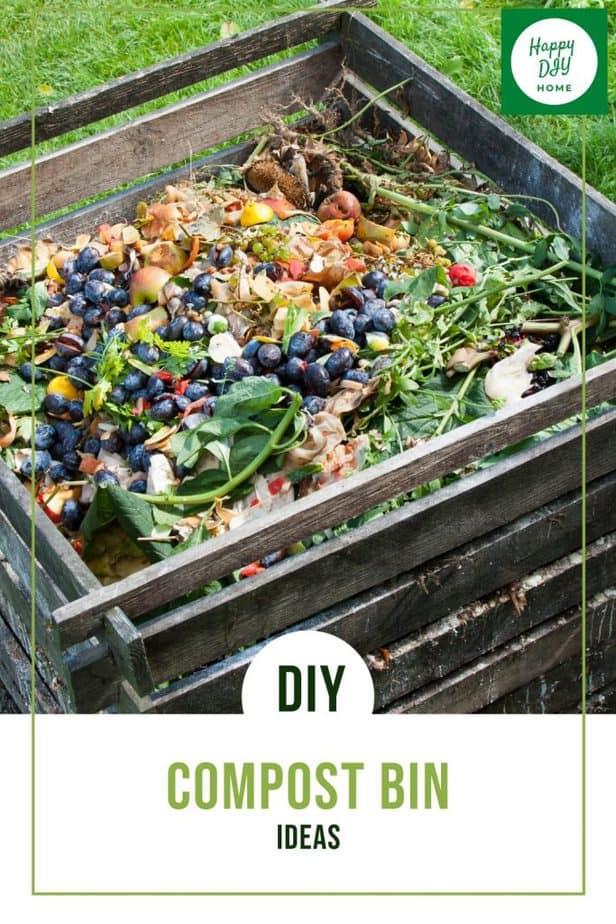 DIY Compost Bin Ideas 1