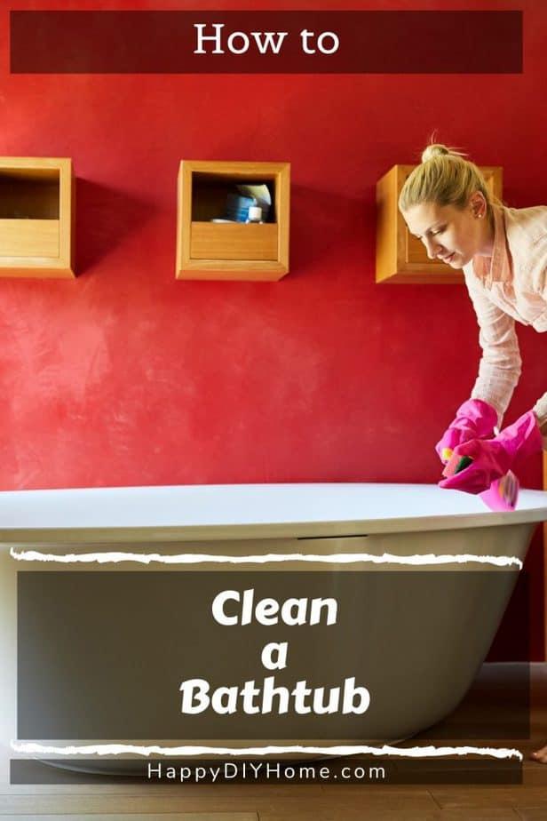 How to Clean a Bathtub 1