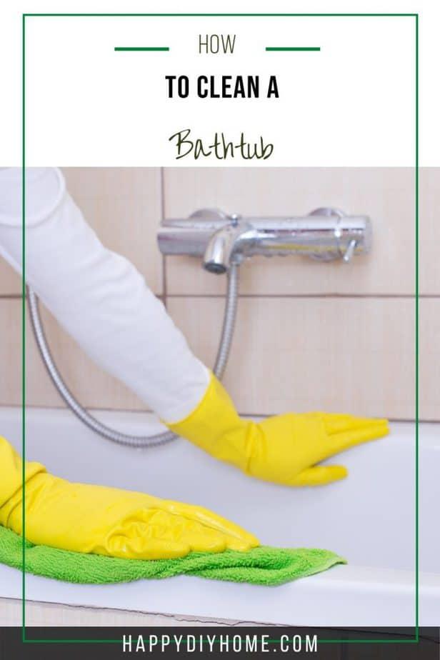 How to Clean a Bathtub 2