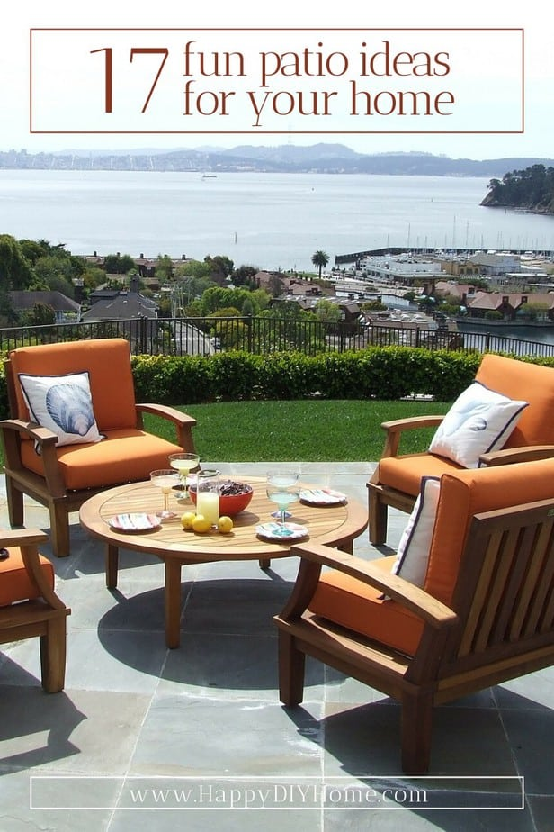 17 Fun Patio Ideas For Your Home Happy Diy Home