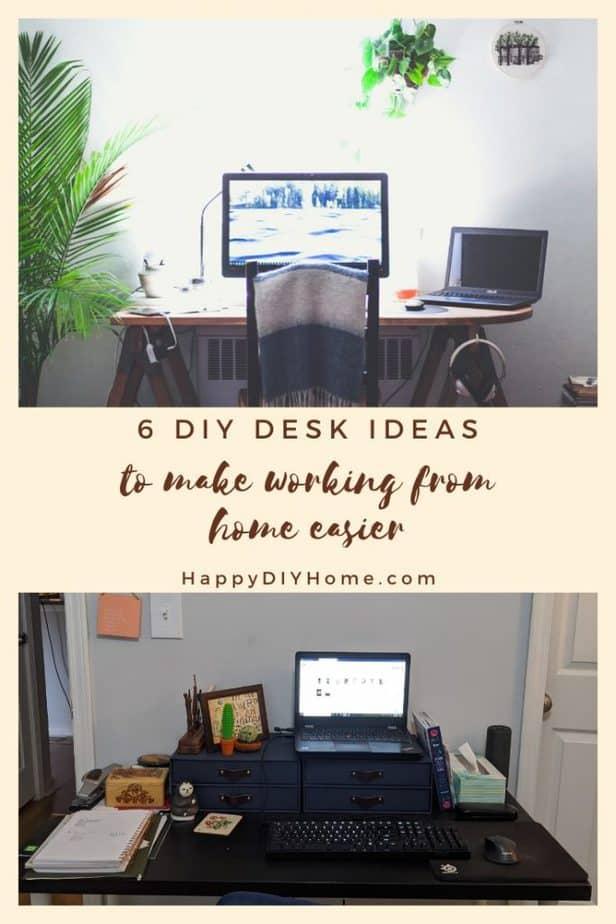 0. 6 DIY Desk Ideas