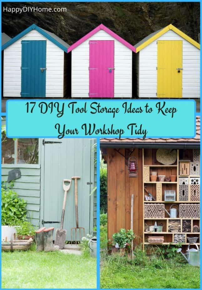 17 DIY Tool Storage Ideas to Keep Your Workshop Tidy Cover