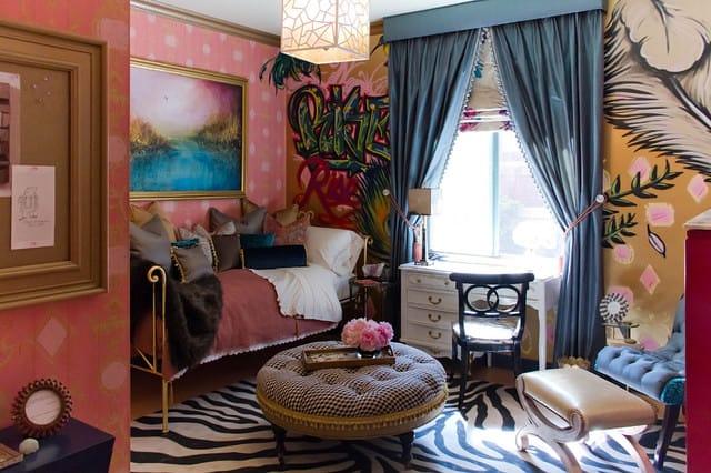 20. Eclectic interior 1
