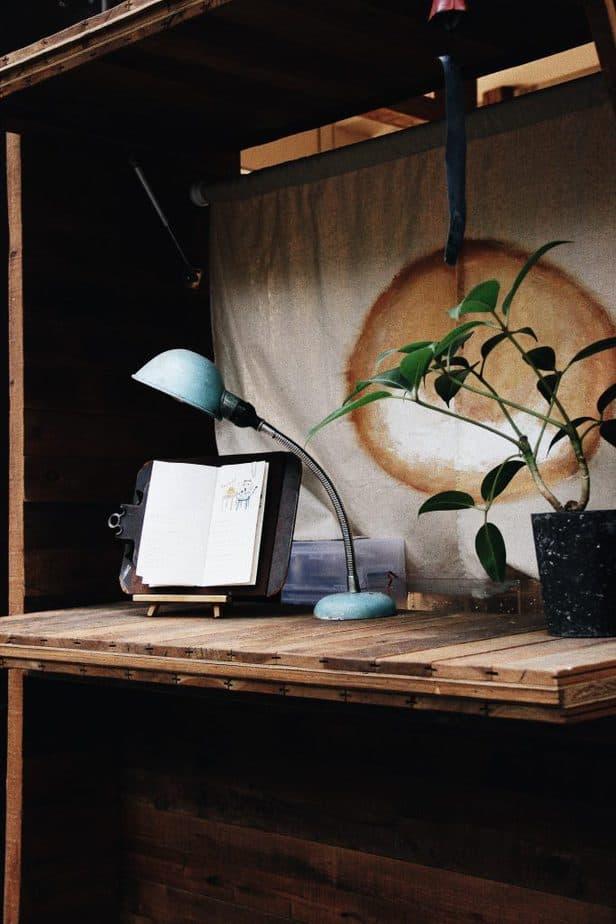 3. Floating Desk