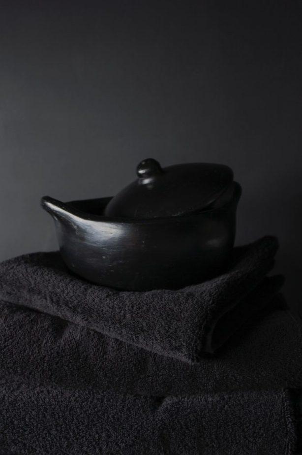 7. Black Pottery