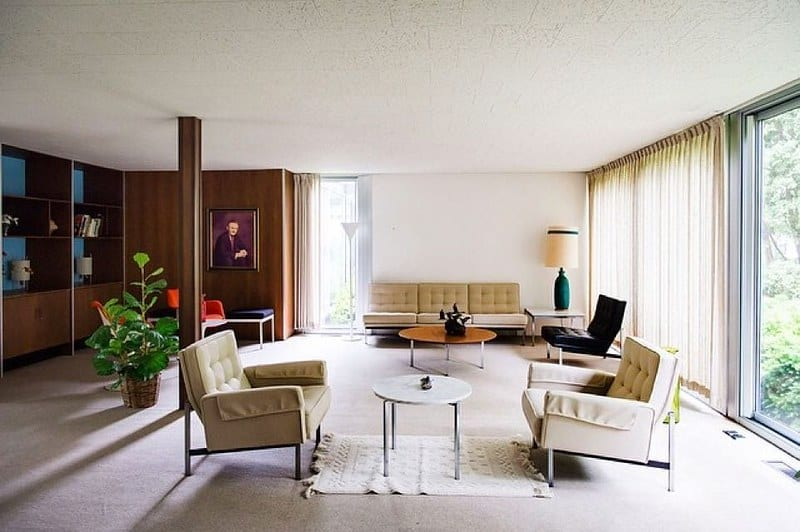 7. MidCentury Modern interior 1
