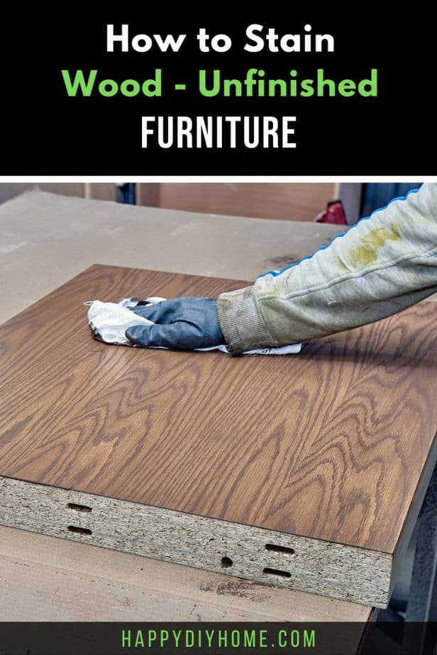 How to Stain Wood 1