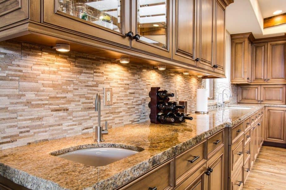 Kitchen Costs 5 Countertops and Blacksplash 1