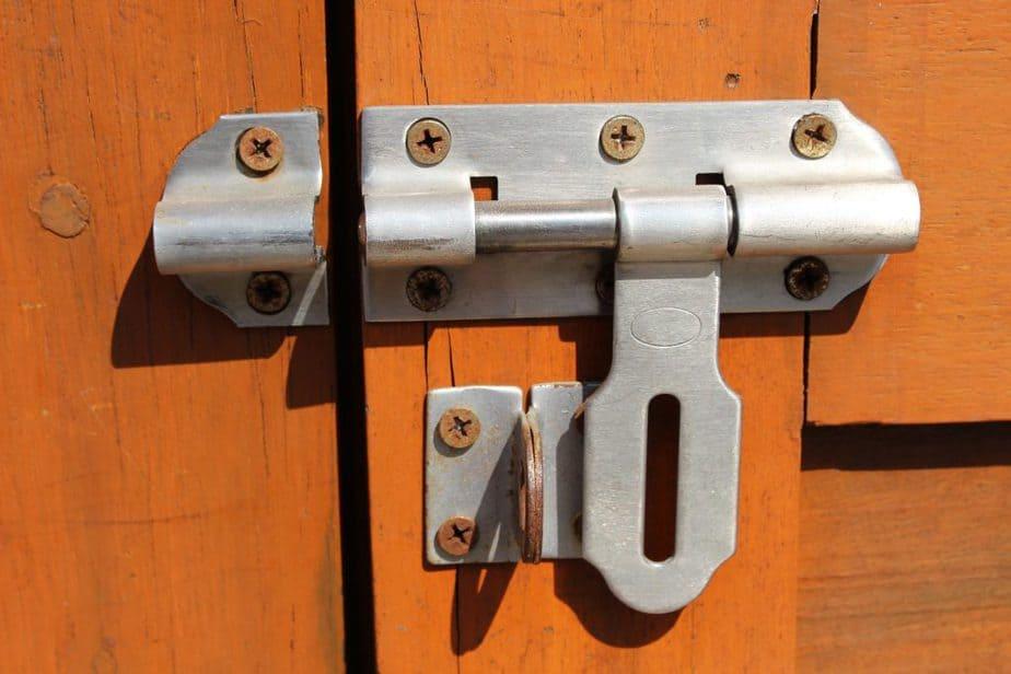 Tool Storage Ideas 13 Sliding Latch
