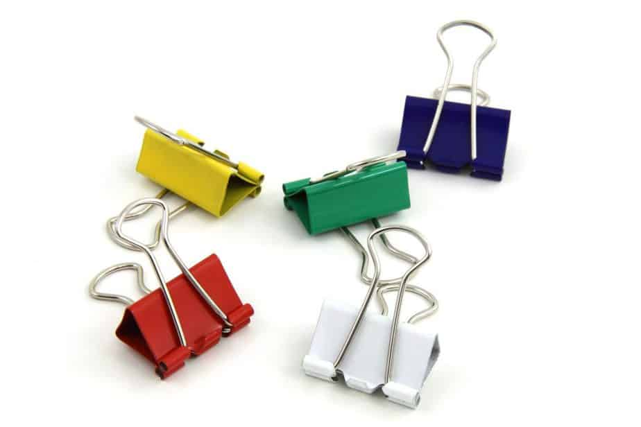 Tool Storage Ideas 15 Binder clips