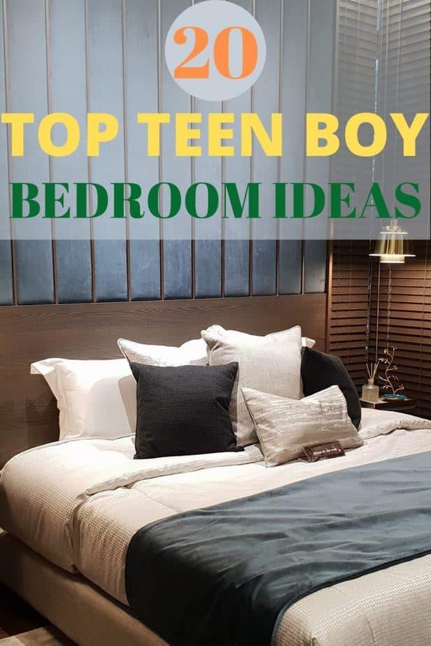 1 teen boy bedroom ideas