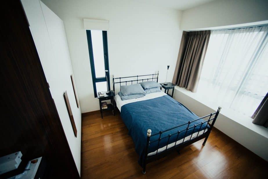11 bedspread in blue