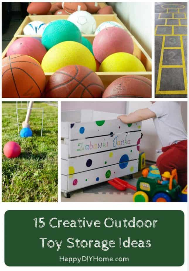 15 Creative Outdoor Toy Storage Ideas Cover