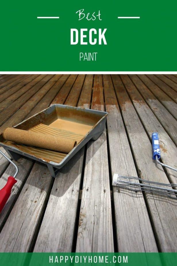Best Deck Paint 1