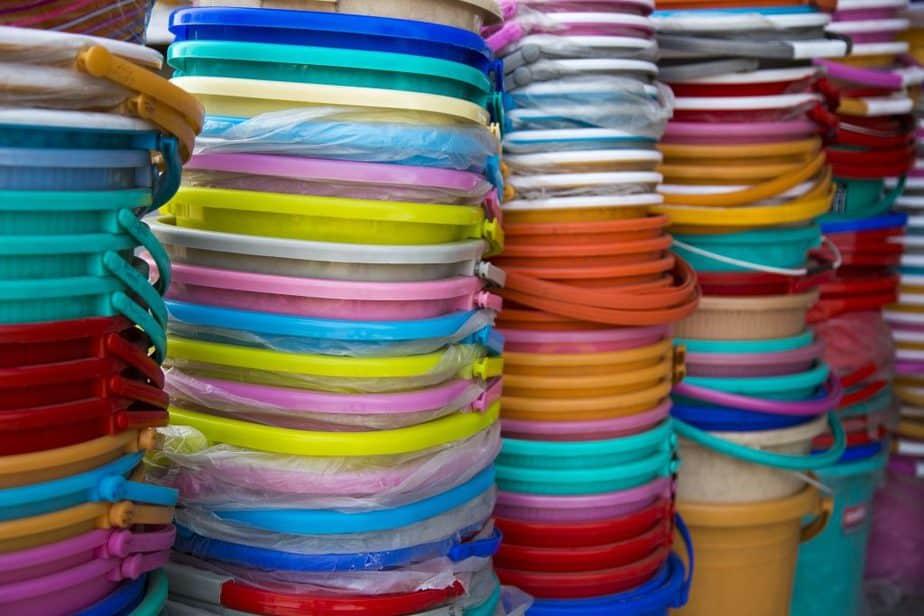 Toy Storage 3 Buckets