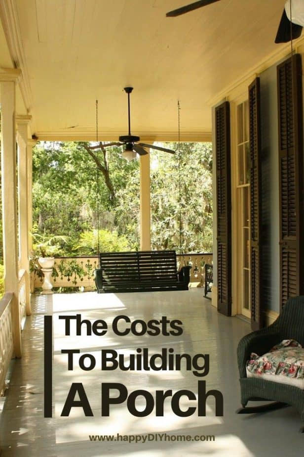 cost to build a porch