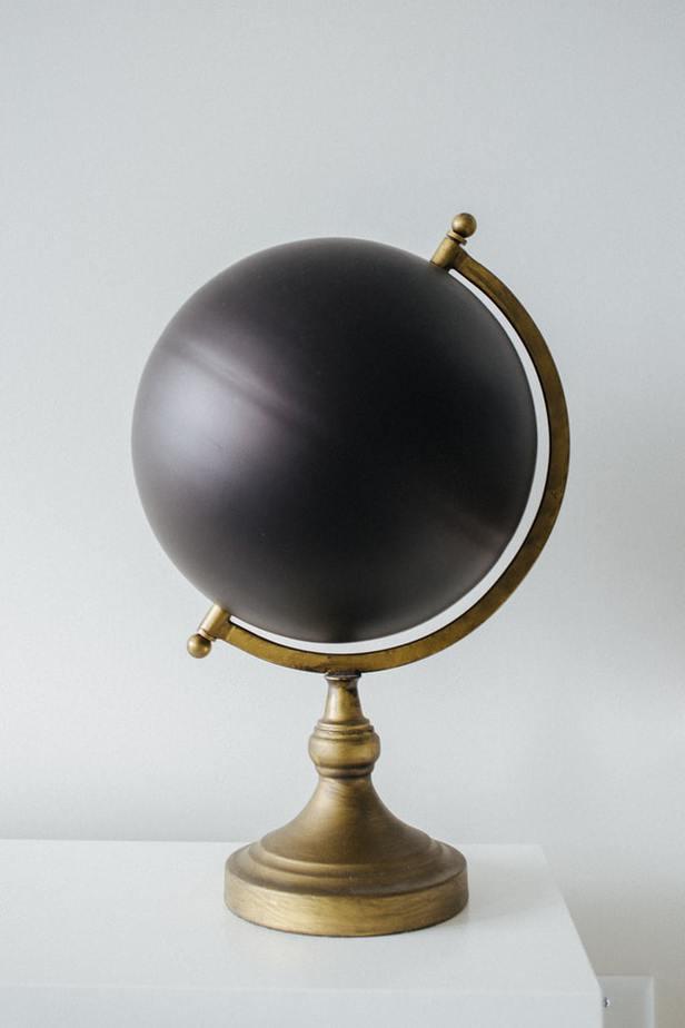 20. Chalkboard Globe