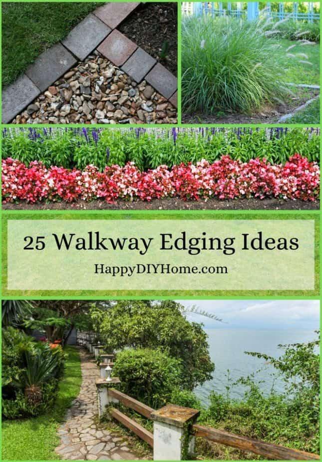 25 Walkway Edging Ideas Cover
