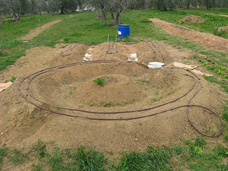3 Garden Mounds