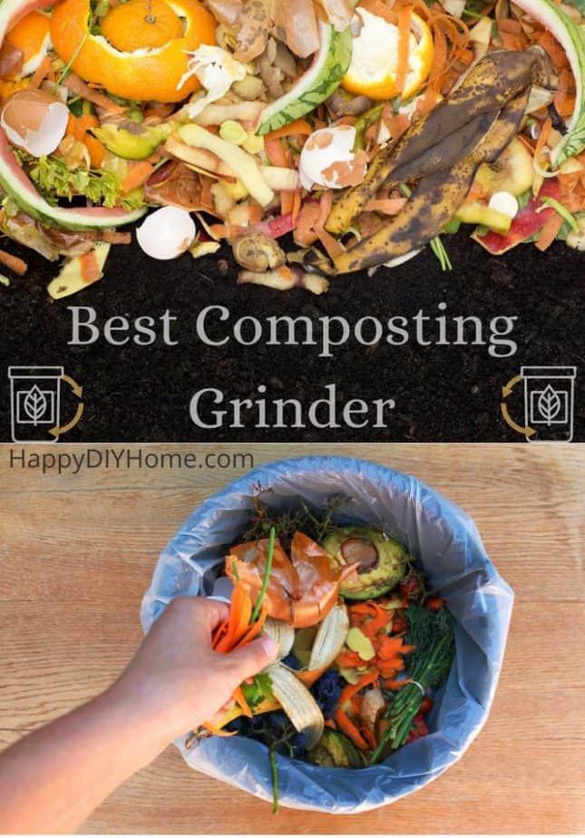 Best Composting Grinder Cover
