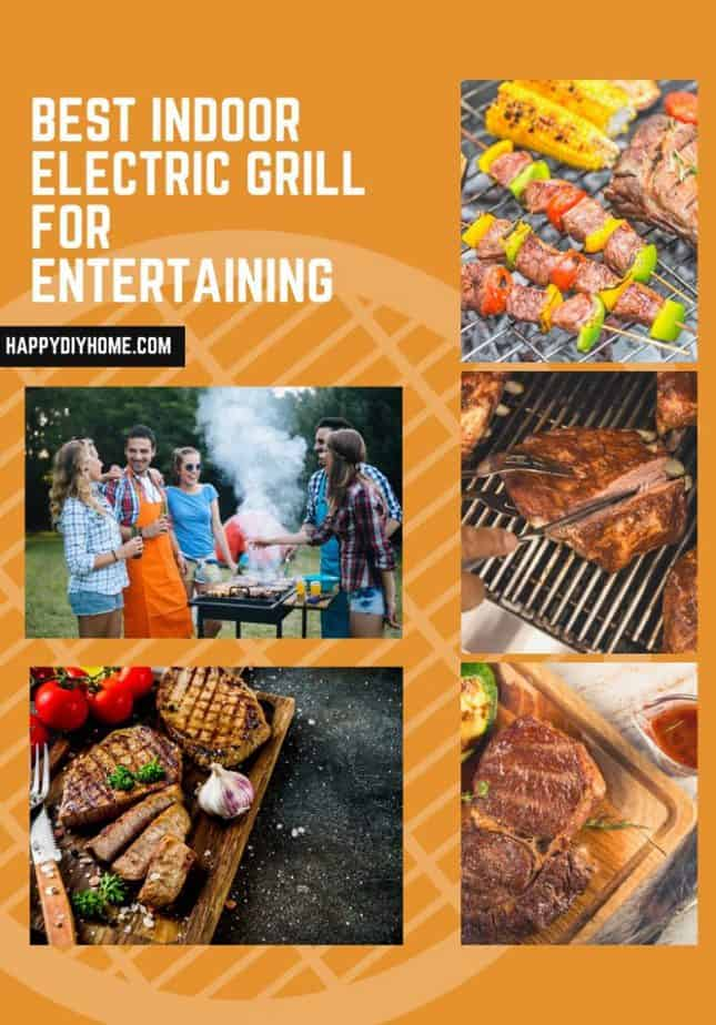 Best Indoor Electric Grill for Entertaining Cover