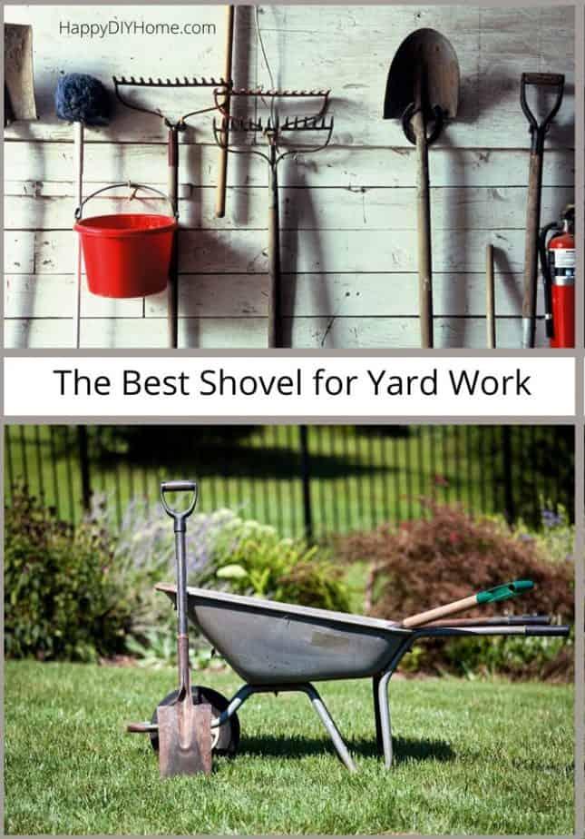 The Best Shovel for Yard Work