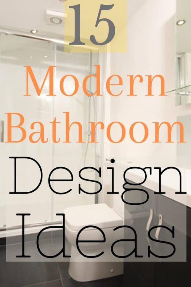 0 Pin 15 modern bathroom ideas