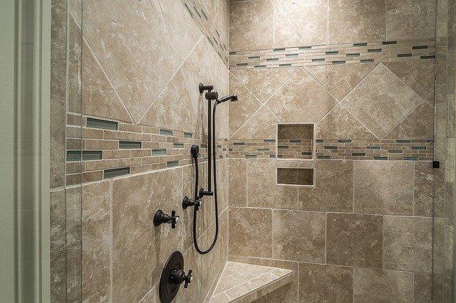 15 shower niche