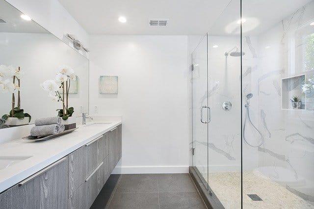 16 white bathroom