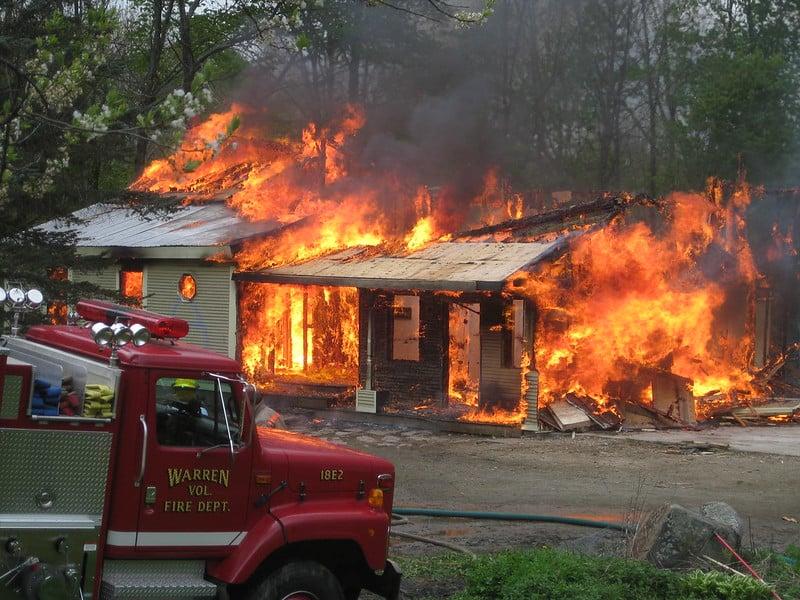 19 house fire