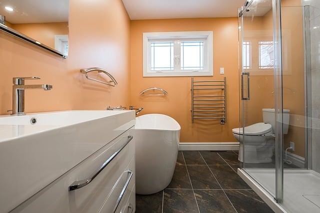 3 bathroom wall color