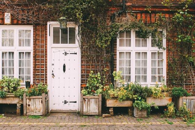 5. Overgrown Exterior