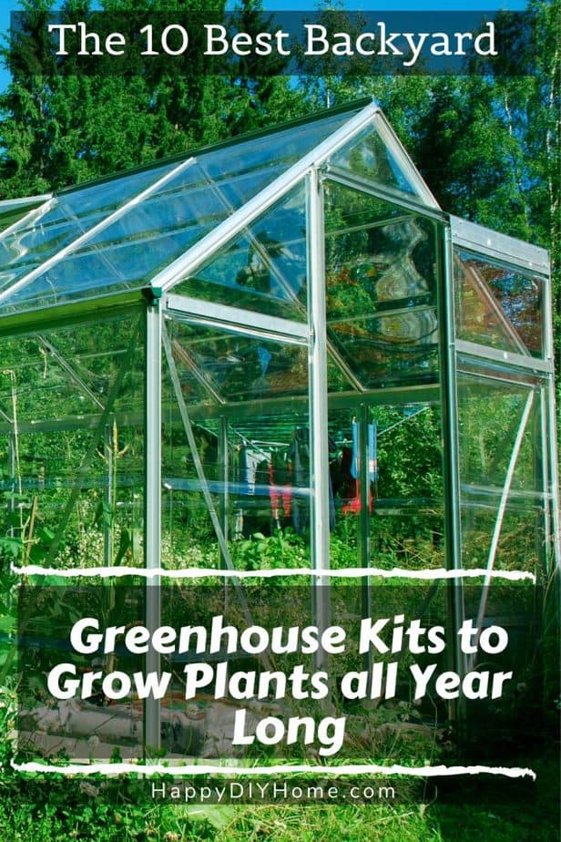 Backyard Greenhouses 1