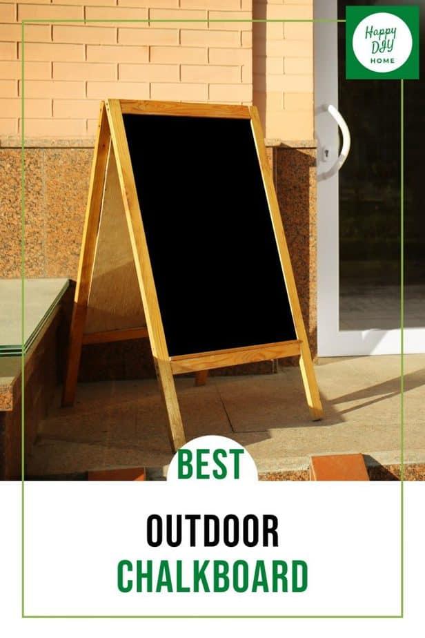 Outdoor Chalkboard 1