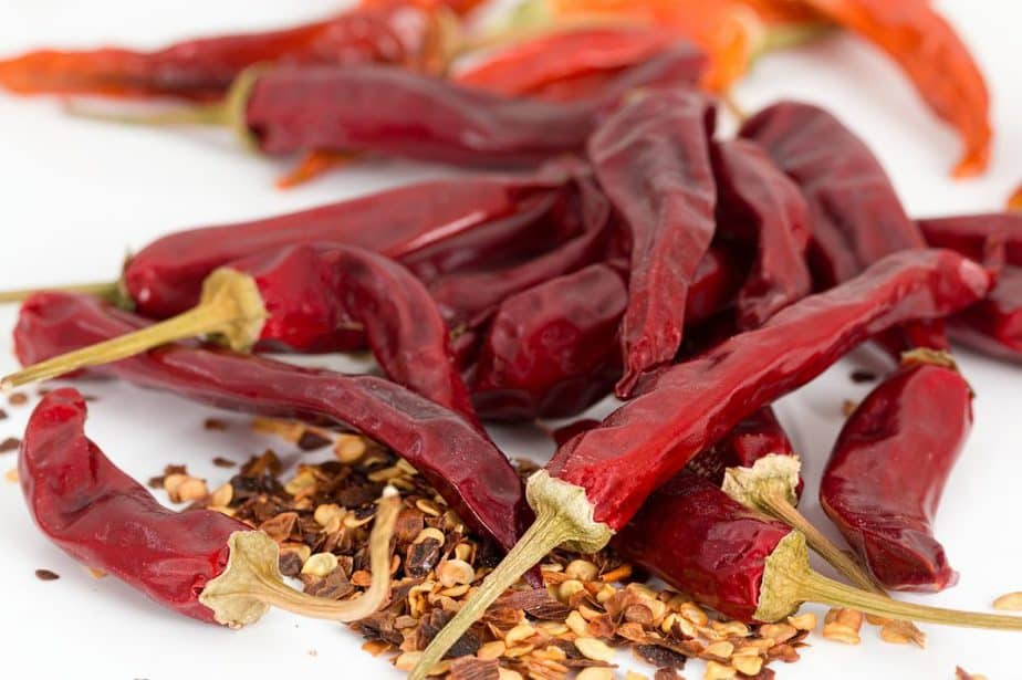 6 Dried Peppers