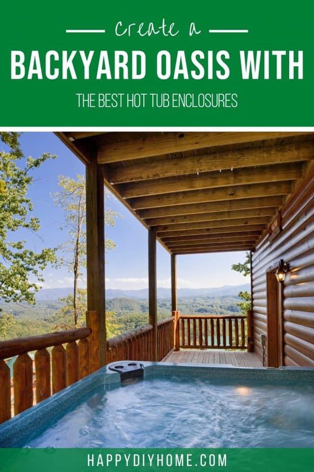 Hot Tub Enclosure 1