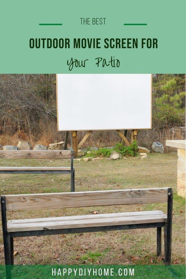 Outdoor Movie Screen 1