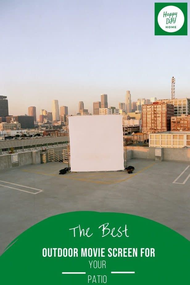 Outdoor Movie Screen 2