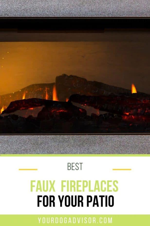 best faux fireplace 2