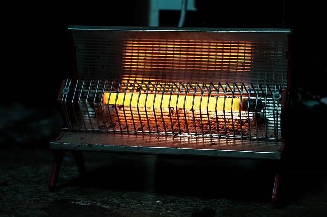 Infrared Heater 1 Start
