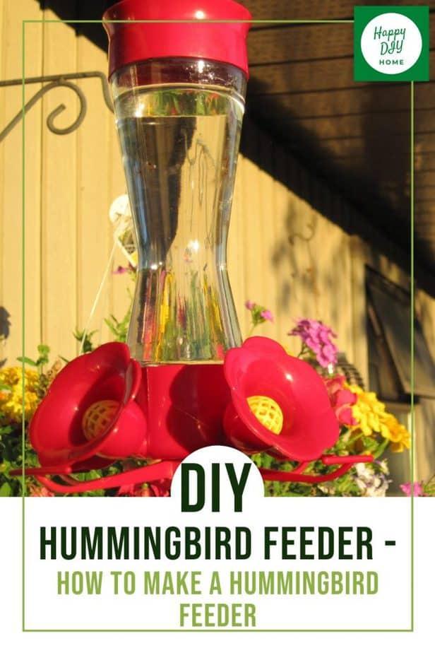 DIY Hummingbird Feeder 1