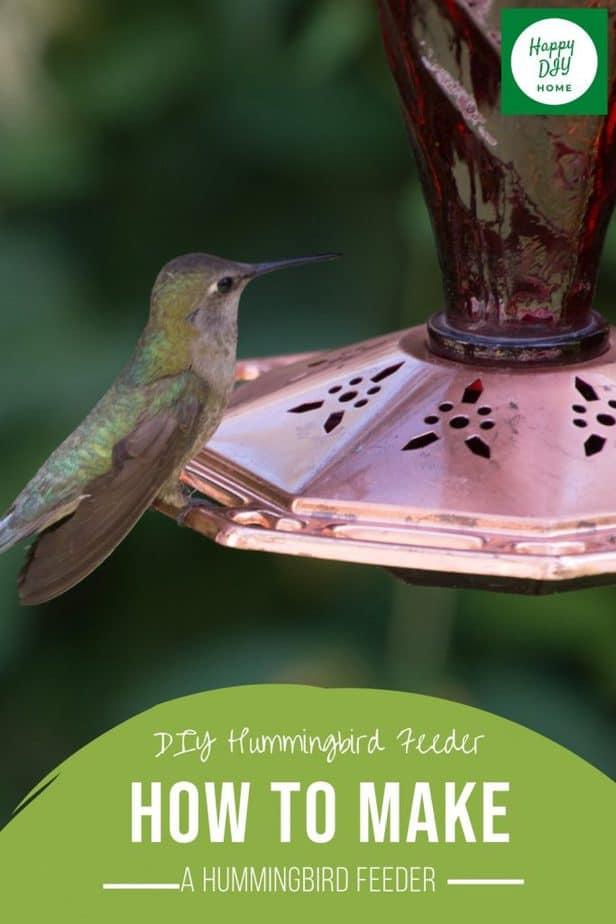 DIY Hummingbird Feeder 2