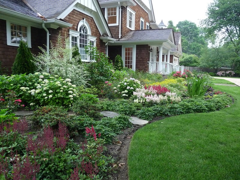 1 Garden Landscape by Front Door