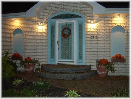 13 Motion Sensor Lighting by Doorway