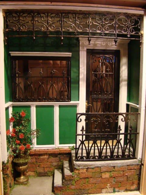 15 Wrought Iron Doorway