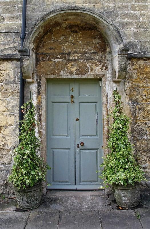 16 Ornamental Shrubs Framing Door