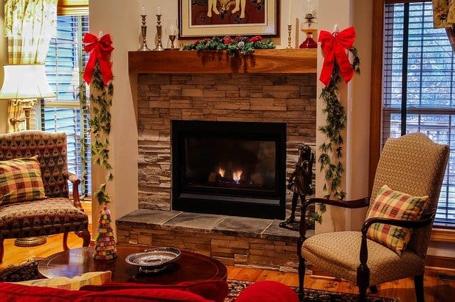 2 Larger Gas Fireplace