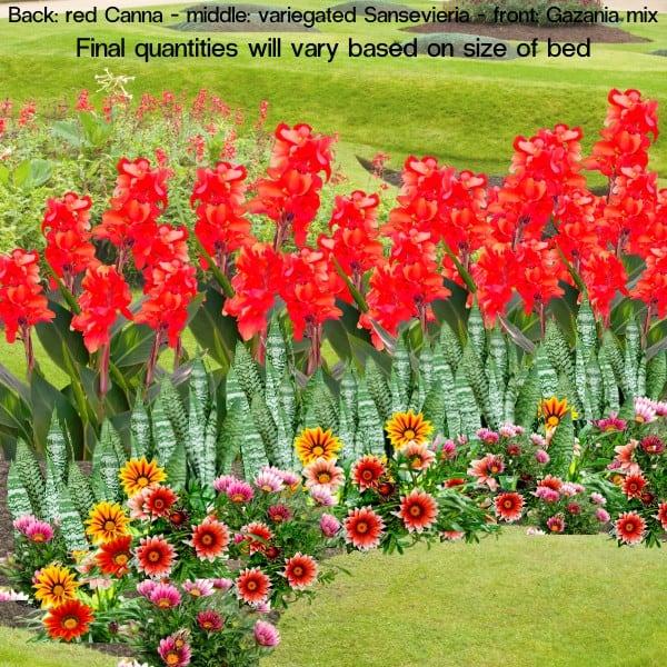 20. Option 3 In ground Flower Bed