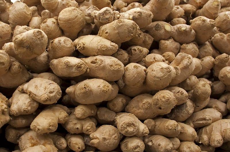 23 Pile of Fresh Ginger