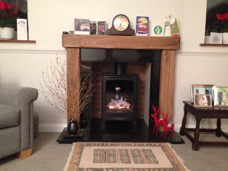 3 Apartment Fireplace